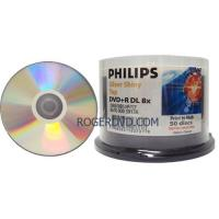 Buy cheap Philips Duplication Grade Double Layer 8X DVD+R Silver Shiny Top from wholesalers