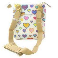 Buy cheap Handbags Multi Hearts Messenger Tote (White) from wholesalers