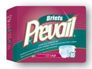 "Buy cheap Prevail Adult Brief  2XLarge - 62""-68"" (6 bags of 8 - 48 case count) from wholesalers"