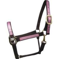 Buy cheap Chocolate Nylon Overlay Halter from wholesalers