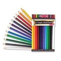 China Jumbo Triangular Colored Pencils (set of 12) on sale