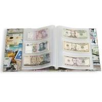 Buy cheap 100 different world banknotes w/Vario album from wholesalers
