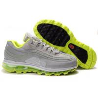 Buy cheap Men Nike Air Max 24-7 Air Attack Pack Metallic Silver Green product