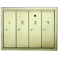 Buy cheap Aluminum & Brass Mailbox Systems from wholesalers