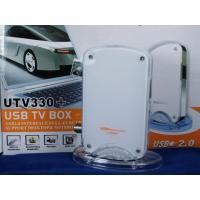Buy cheap USB 2.0 TV Tuner / Video Capture Box with Remote ControlGADMEI UTV330+ from wholesalers