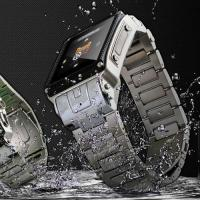 Buy cheap Waterproof Watch Mobile Cell Phone Camera Bluetooth 2GB (W818) from wholesalers