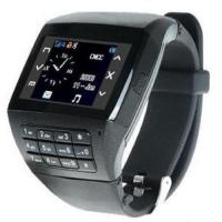 Buy cheap Mobile Watch Phone Dual Card Dual Standby MP3/4 Cam 1GB (watchphone #06) from wholesalers