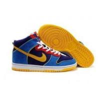 Buy cheap Cheap Nike Mens SB Dunk High Yellow/Blue/Deep Purple Shoes from wholesalers