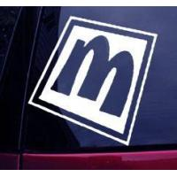 Buy cheap DISNEY MICKEY MOUSE DECAL STICKER CAR WINDOW LETTER M. DECALS from wholesalers