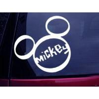 Buy cheap DISNEY MICKEY MOUSE DECAL STICKER CAR WINDOW WORDING DECALS from wholesalers