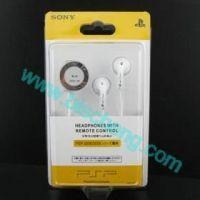 Buy cheap PSP2000/3000 Earphone With Remote Control from wholesalers