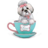 Buy cheap Shih Tzus With Personali-tea Figurine Collection product