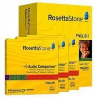 Buy cheap Rosetta Stone Version 3 English (Amarican) Level 1, 2, 3, 4 & 5 Set with Audio Companion from wholesalers