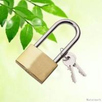 Buy cheap brass long shackle padlock from wholesalers