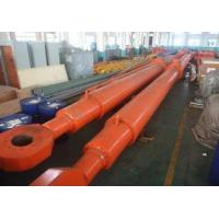 Buy cheap QHSY: Deep hole radial gate Hydraulic Hoist Cylinder for construction project from wholesalers