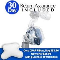 Buy cheap ResMed Mirage SoftGel Nasal CPAP Mask w/Headgear - $20 Rebate Offer from wholesalers