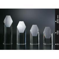 Buy cheap Crystal Hexagon Trophy from wholesalers