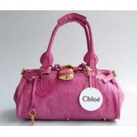 Buy cheap Chloe Bags Fall 2011 - Chloe 50831 Hot Pink Paddington Leather Padlock Handbag from wholesalers