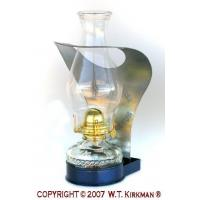 Buy cheap W.T. Kirkman No. 2510 Glass Fount Wall Lamp from Wholesalers