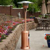 Buy cheap Garden Sun Copper-Plated Patio Heater with Cover and Wheels from wholesalers