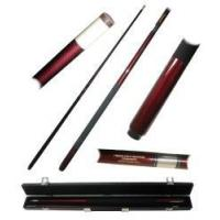 Buy cheap Burgundy Net Fiberglass Pool Cue from wholesalers