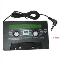 Buy cheap BLACK CAR AUDIO CASSETTE FOR IPOD MP3 CD PLAYER from wholesalers