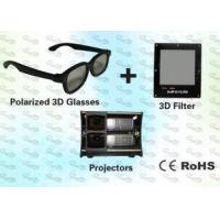 Buy cheap 3D Polarized Glasses with Trolley and 3D Projector for Home Theater from wholesalers