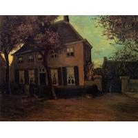 Buy cheap The Parsonage at Nuenen - Oil Painting Reproduction -Vincent Van Gogh #364 from wholesalers