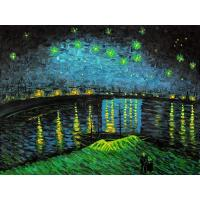 Buy cheap Starry Night Over The Rhone Oil Painting by Van Gogh #1193 from wholesalers