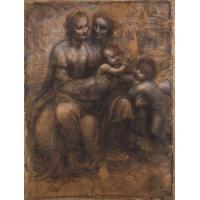 Buy cheap Madonna and Child with St Anne and the Young St John by Leonardo da Vinci #687 from wholesalers