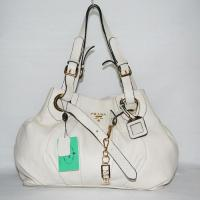 Buy cheap Victoria Di Prada White Leather Shoulder Bag 2012 from wholesalers