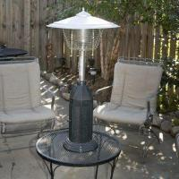China Coral Coast Deluxe Cast Iron Table Top Patio Heater on sale