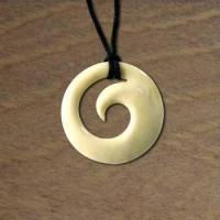 Buy cheap Hand Carved Bone Koru Pendant from wholesalers