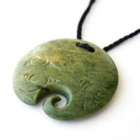 Buy cheap Marsden Flower Greenstone Koru Disc Pendant from wholesalers