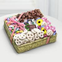 Buy cheap Spring Chocolates & Treats Basket from wholesalers