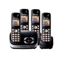 Buy cheap Panasonic Cordless Phone System /w 4 Handsets KXTG6514B from wholesalers