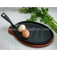Buy cheap CAST IRON steak pan from wholesalers