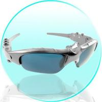 Buy cheap Silver Bluetooth MP3 Player Sunglasses with 1GB Flash Memory from wholesalers