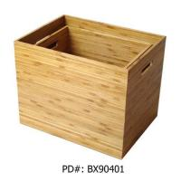 Buy cheap Rect. Pressed bamboo box from wholesalers