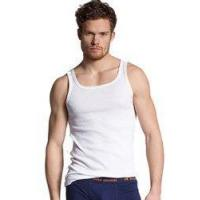 Buy cheap Hugo Boss Mens Casual Tank Top Orange Small from wholesalers