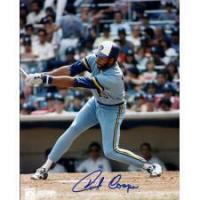 Buy cheap Cecil Cooper Autographed Milwaukee Brewers 8x10 Photo from wholesalers