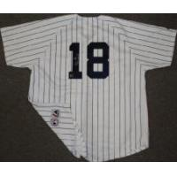 Buy cheap Don Larsen Signed Yankees Pinstripe Majestic Jersey w/PG 10-8-56 product