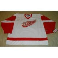 Buy cheap BRETT HULL AUTOGRAPHED RED WINGS JERSEY product