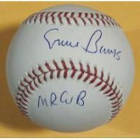Buy cheap Ernie Banks Autogaphed Official Major League Baseball with