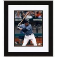 Buy cheap Evan Longoria Autographed Tampa Bay Rays 8x10 Photo - Custom Framed product
