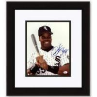 """Buy cheap Frank """"The Big Hurt"""" Thomas Autographed Chicago White Sox 8x10 Photo - Custom Framed product"""