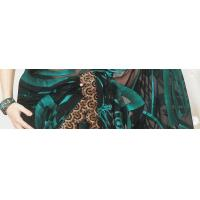 Buy cheap Black Net Saree with Blouse from wholesalers