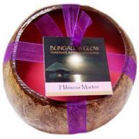 Buy cheap Hibiscus Martini Coconut Shell Soy Candle from wholesalers