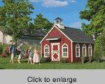 Buy cheap Stratford Wood Schoolhouse Playhouse Kit from wholesalers