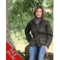 China Aigle Womens Clothing Collection Aigle Saramoon Quilted Jacket on sale